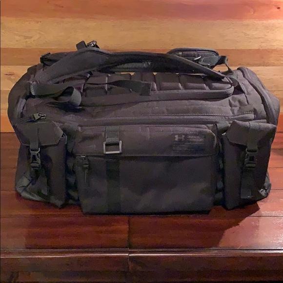 UA Under Armour CORDURA range duffle bag backpack.  M 5c7370bfd6dc52ef8ed1a66b 9a2178216b168